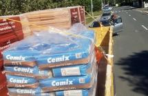 kontejner - stavební materiál